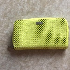 NWOT Yellow Thirty one Jewell wallet